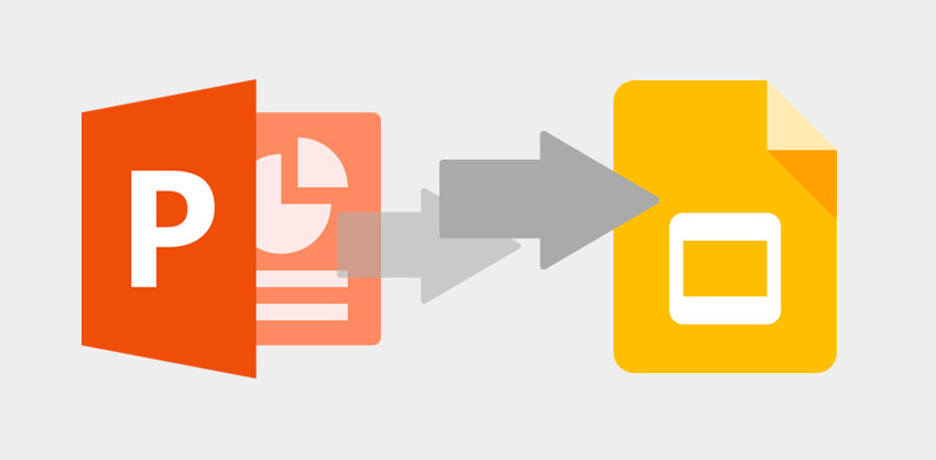 how to convert powerpoint to google slides slide express