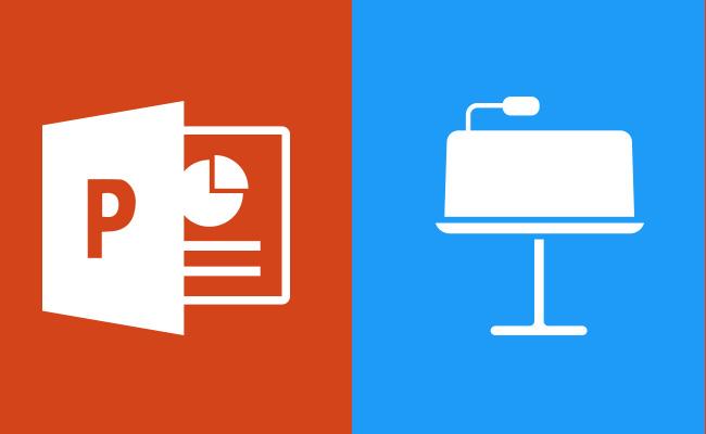 The Ultimate Battle: Powerpoint vs. Keynote
